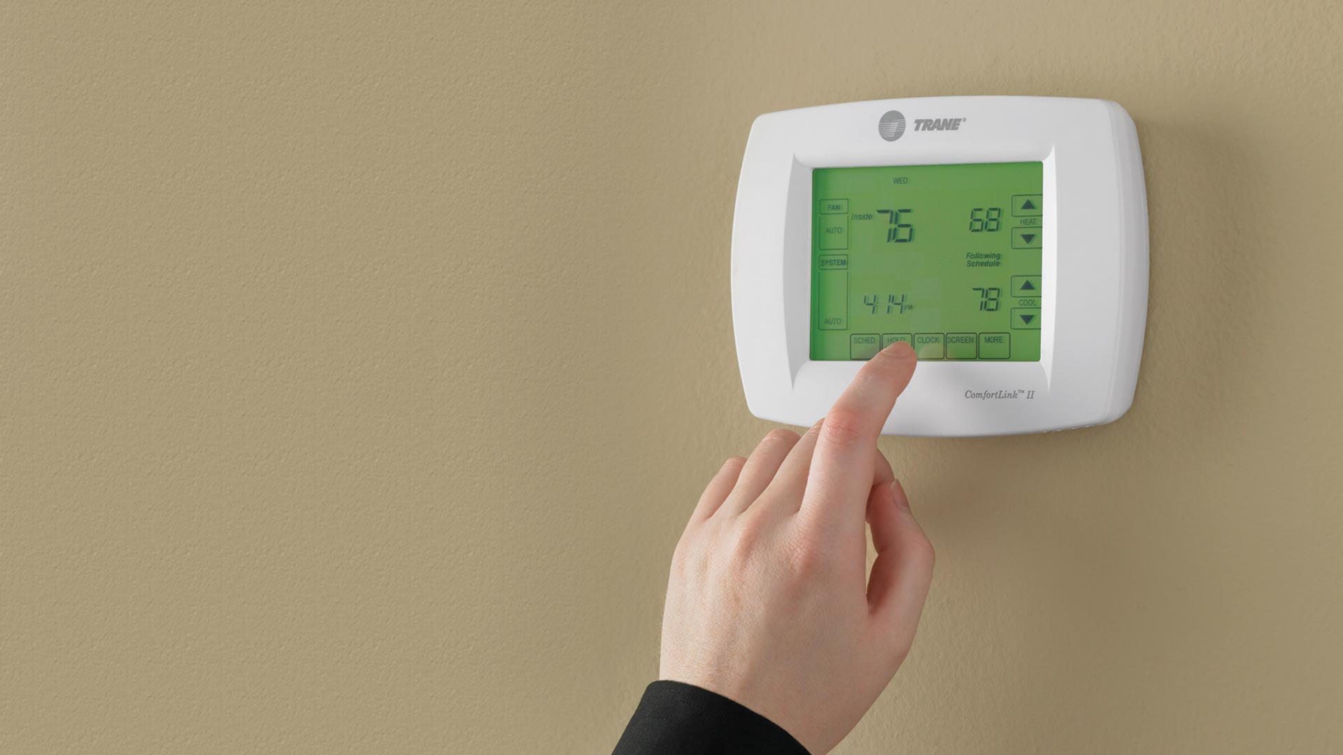 trane ac thermostat. how wifi thermostats make air conditioning simple trane ac thermostat n